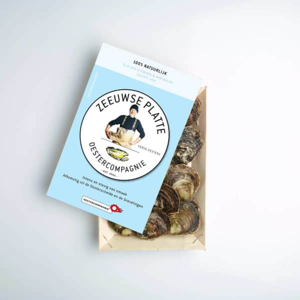 Verpakking Zeeuwse platte oesters